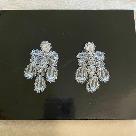 Gorgeous vintage style chandelier earrings
